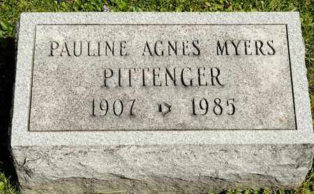 MYERS PITTENGER, PAULINE AGNES - Richland County, Ohio | PAULINE AGNES MYERS PITTENGER - Ohio Gravestone Photos