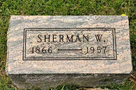 PITTENGER, SHERMAN W - Richland County, Ohio | SHERMAN W PITTENGER - Ohio Gravestone Photos