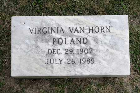 POLAND, VIRGINIA - Richland County, Ohio | VIRGINIA POLAND - Ohio Gravestone Photos