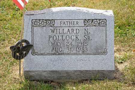 POLLOCK SR, WILLARD N - Richland County, Ohio | WILLARD N POLLOCK SR - Ohio Gravestone Photos