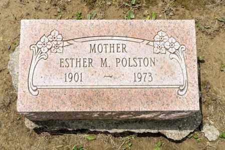 POLSTON, ESTHER M - Richland County, Ohio | ESTHER M POLSTON - Ohio Gravestone Photos