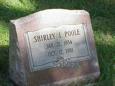 POOLE, SHIRLEY I. - Richland County, Ohio | SHIRLEY I. POOLE - Ohio Gravestone Photos