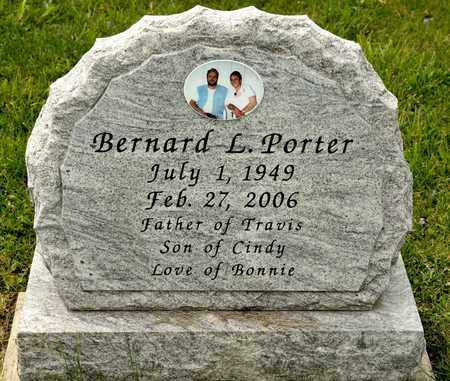 PORTER, BERNARD L - Richland County, Ohio | BERNARD L PORTER - Ohio Gravestone Photos