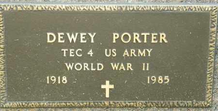PORTER, DEWEY - Richland County, Ohio | DEWEY PORTER - Ohio Gravestone Photos