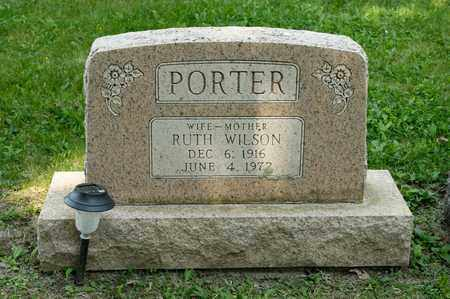 PORTER, RUTH - Richland County, Ohio | RUTH PORTER - Ohio Gravestone Photos