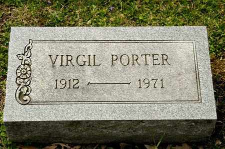 PORTER, VIRGIL - Richland County, Ohio | VIRGIL PORTER - Ohio Gravestone Photos