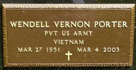 PORTER, WENDELL VERNON - Richland County, Ohio | WENDELL VERNON PORTER - Ohio Gravestone Photos