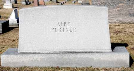 SIPE PORTNER, NETTE - Richland County, Ohio | NETTE SIPE PORTNER - Ohio Gravestone Photos
