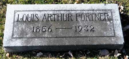 PORTNER, LOUIS ARTHUR - Richland County, Ohio | LOUIS ARTHUR PORTNER - Ohio Gravestone Photos