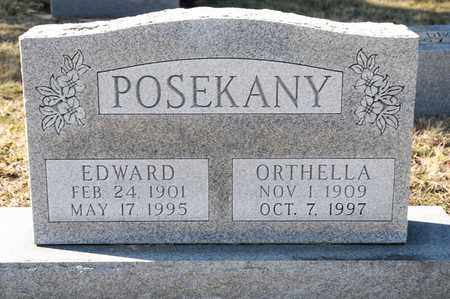 POSEKANY, EDWARD - Richland County, Ohio | EDWARD POSEKANY - Ohio Gravestone Photos