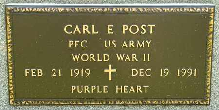 POST, CARL E - Richland County, Ohio | CARL E POST - Ohio Gravestone Photos