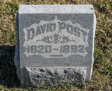 POST, DAVID - Richland County, Ohio | DAVID POST - Ohio Gravestone Photos