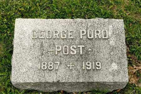 POST, GEORGE PURD - Richland County, Ohio | GEORGE PURD POST - Ohio Gravestone Photos