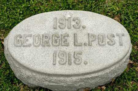 POST, GEORGE L - Richland County, Ohio | GEORGE L POST - Ohio Gravestone Photos