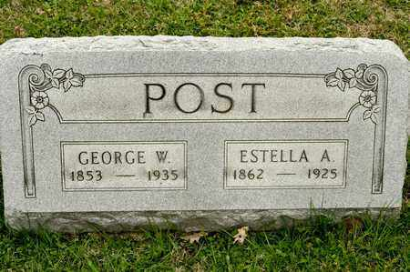 POST, ESTELLA A - Richland County, Ohio | ESTELLA A POST - Ohio Gravestone Photos