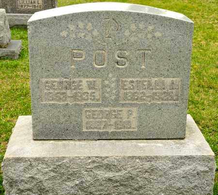 POST, GEORGE P - Richland County, Ohio | GEORGE P POST - Ohio Gravestone Photos