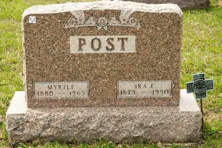 POST, IRA E - Richland County, Ohio | IRA E POST - Ohio Gravestone Photos