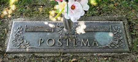 POSTEMA, THOMAS - Richland County, Ohio | THOMAS POSTEMA - Ohio Gravestone Photos