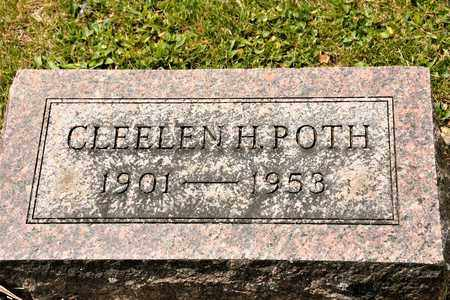POTH, CLEELEN H - Richland County, Ohio | CLEELEN H POTH - Ohio Gravestone Photos