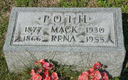 POTH, RENA - Richland County, Ohio | RENA POTH - Ohio Gravestone Photos
