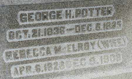 POTTER, GEORGE H - Richland County, Ohio | GEORGE H POTTER - Ohio Gravestone Photos