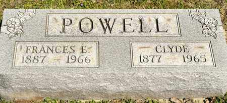 POWELL, FRANCES E - Richland County, Ohio | FRANCES E POWELL - Ohio Gravestone Photos