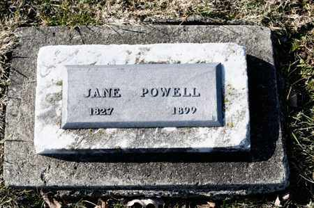 POWELL, JANE - Richland County, Ohio | JANE POWELL - Ohio Gravestone Photos