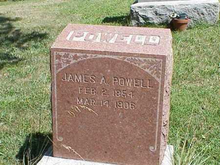 POWELL, JAMES A. - Richland County, Ohio | JAMES A. POWELL - Ohio Gravestone Photos