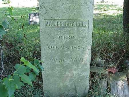 POWELL, JAMES - Richland County, Ohio | JAMES POWELL - Ohio Gravestone Photos