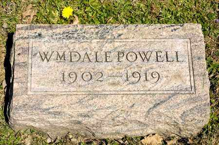 POWELL, WILLIAM DALE - Richland County, Ohio | WILLIAM DALE POWELL - Ohio Gravestone Photos