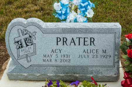 PRATER, ACY - Richland County, Ohio | ACY PRATER - Ohio Gravestone Photos