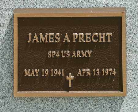 PRECHT, JAMES A - Richland County, Ohio | JAMES A PRECHT - Ohio Gravestone Photos