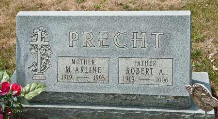 PRECHT, ROBERT A - Richland County, Ohio | ROBERT A PRECHT - Ohio Gravestone Photos