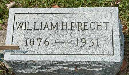 PRECHT, WILLIAM H - Richland County, Ohio | WILLIAM H PRECHT - Ohio Gravestone Photos