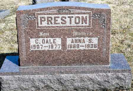 PRESTON, C DALE - Richland County, Ohio | C DALE PRESTON - Ohio Gravestone Photos