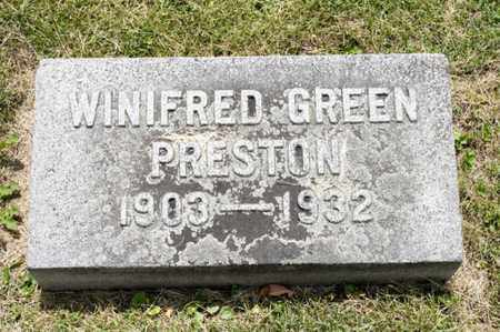 PRESTON, WINIFRED - Richland County, Ohio | WINIFRED PRESTON - Ohio Gravestone Photos
