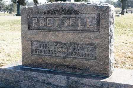 PRETSELL, JOHN - Richland County, Ohio | JOHN PRETSELL - Ohio Gravestone Photos