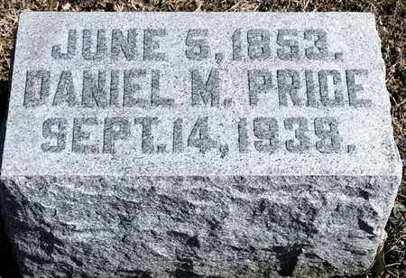 PRICE, DANIEL M - Richland County, Ohio | DANIEL M PRICE - Ohio Gravestone Photos