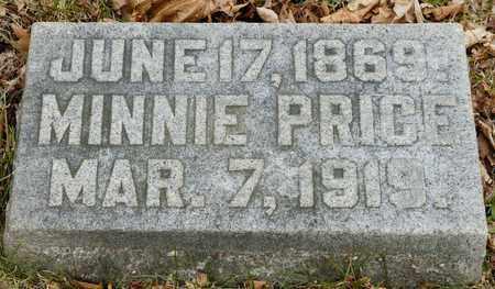 PRICE, MINNIE - Richland County, Ohio | MINNIE PRICE - Ohio Gravestone Photos