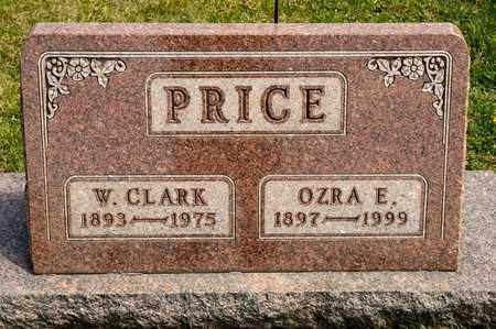 PRICE, OZRA E - Richland County, Ohio | OZRA E PRICE - Ohio Gravestone Photos