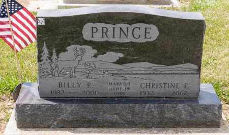 PRINCE, CHRISTINE E - Richland County, Ohio | CHRISTINE E PRINCE - Ohio Gravestone Photos