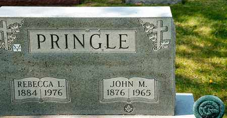 PRINGLE, REBECCA L - Richland County, Ohio | REBECCA L PRINGLE - Ohio Gravestone Photos