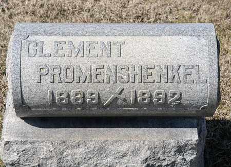 PROMENSCHENKEL, CLEMENT - Richland County, Ohio | CLEMENT PROMENSCHENKEL - Ohio Gravestone Photos