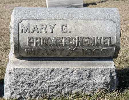 PROMENSHENKEL, MARY G - Richland County, Ohio | MARY G PROMENSHENKEL - Ohio Gravestone Photos
