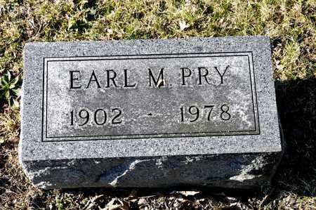 PRY, EARL M - Richland County, Ohio | EARL M PRY - Ohio Gravestone Photos