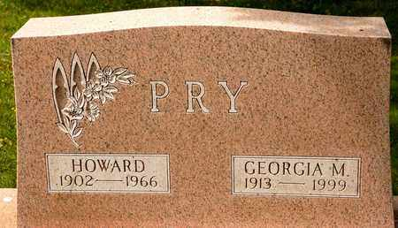 PRY, GEORGIA M - Richland County, Ohio | GEORGIA M PRY - Ohio Gravestone Photos