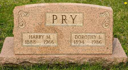 PRY, HARRY M - Richland County, Ohio | HARRY M PRY - Ohio Gravestone Photos