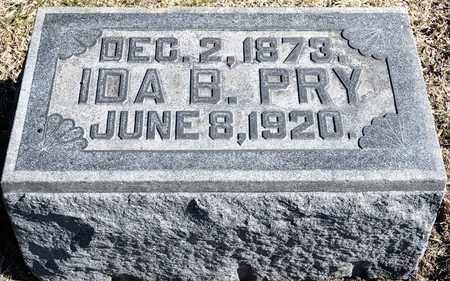 PRY, IDA B - Richland County, Ohio | IDA B PRY - Ohio Gravestone Photos