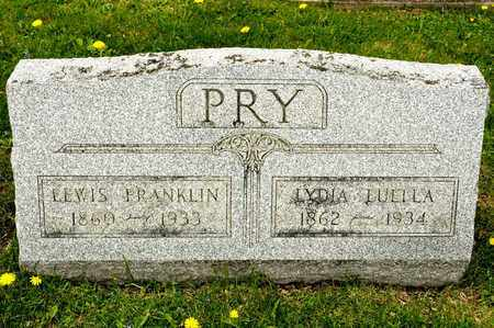 PRY, LYDIA LUELLA - Richland County, Ohio | LYDIA LUELLA PRY - Ohio Gravestone Photos