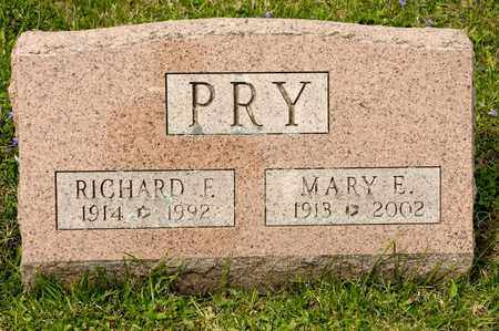 PRY, RICHARD F - Richland County, Ohio | RICHARD F PRY - Ohio Gravestone Photos